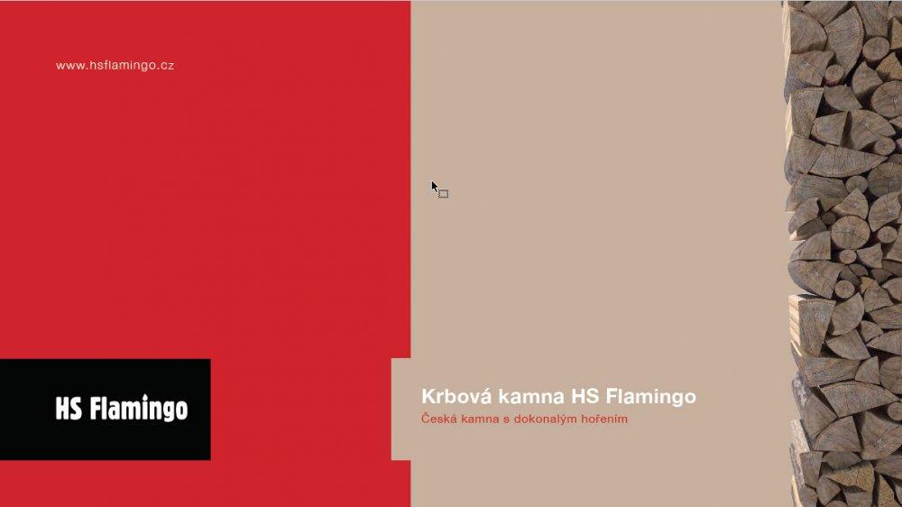 Teplovzdušná krbová kamna  HS Flamingo