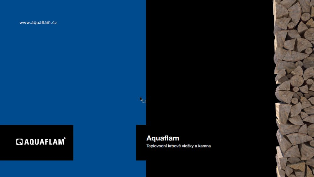 katalog kamna a vložky Aquaflam